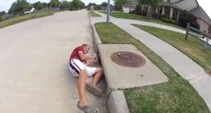 fishing drain