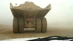 mining truck huge