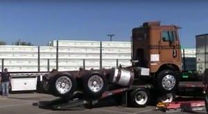 Semi Truck Load Fail