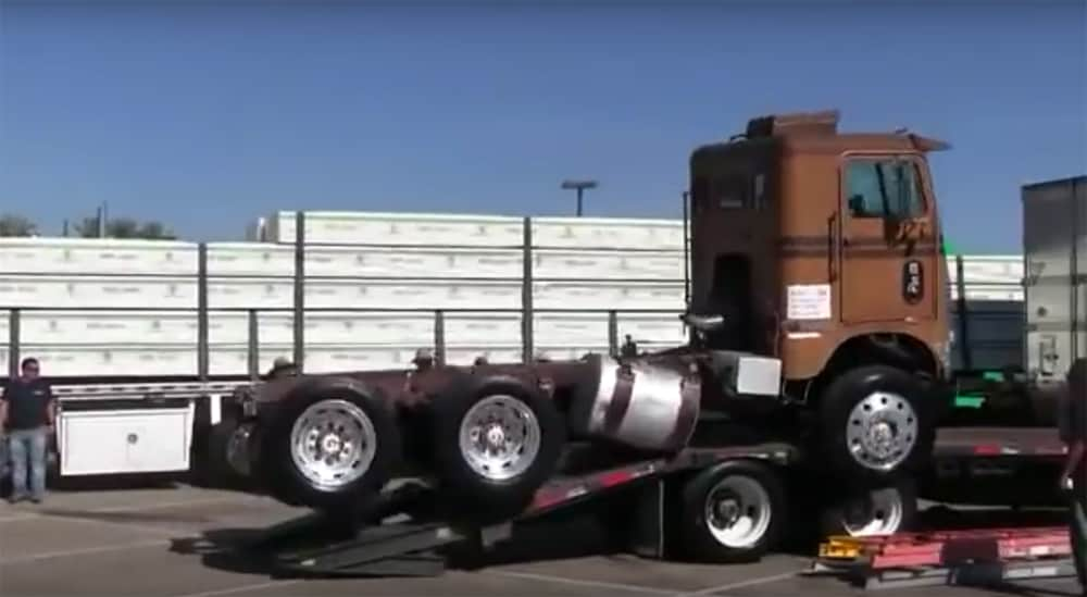 Semi Truck Load Fail