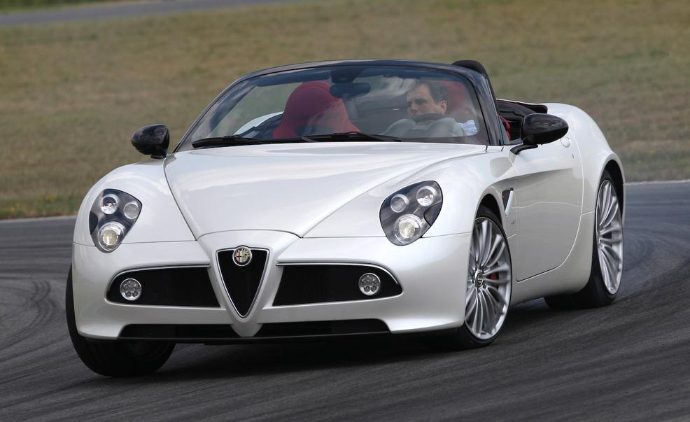 2010 Alfa Romeo 8C Spider Roadster