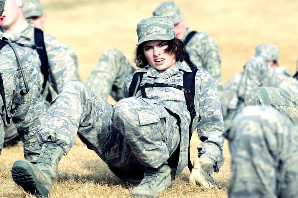 Female Military Training