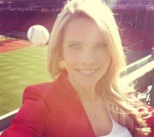 Girl Selfie Baseball