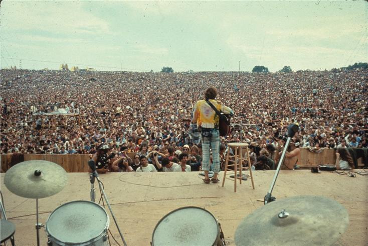 Woodstock Crowd 1969