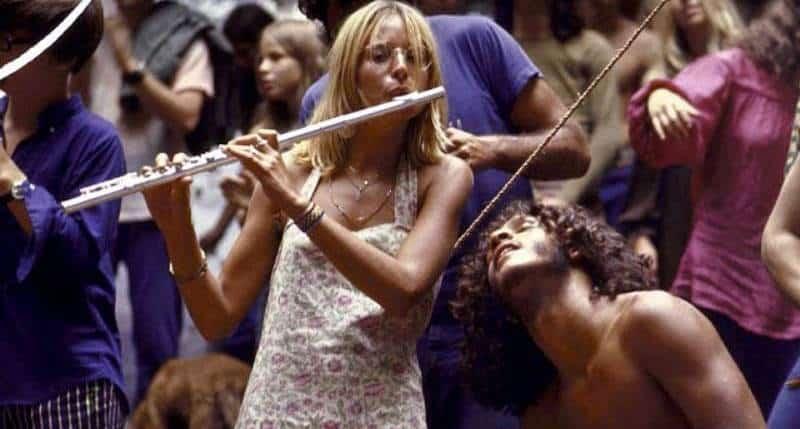 Flute Girl Woodstock