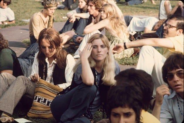 Woodstock Girls 1969