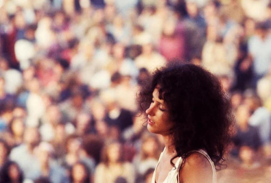 Beautiful Woodstock Girl Hippie