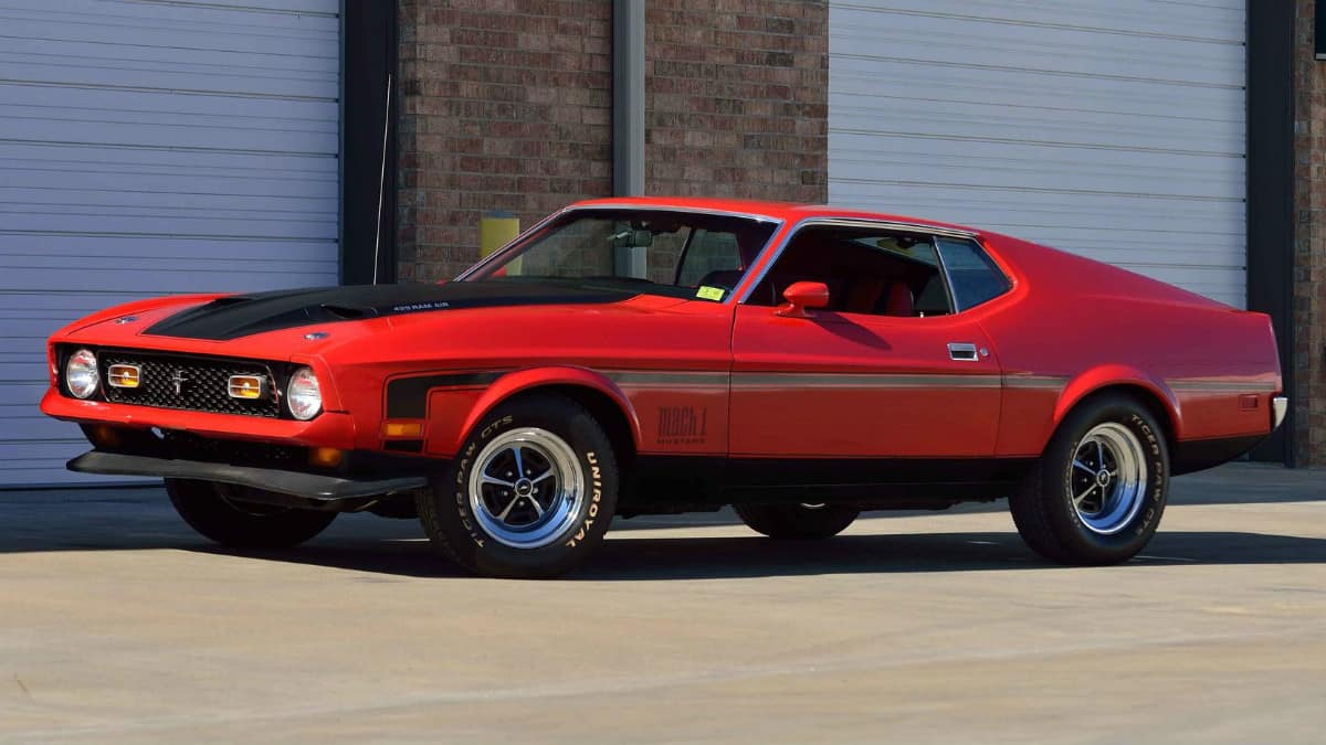 1971 Ford Mustang Mach 1 Drag Pack