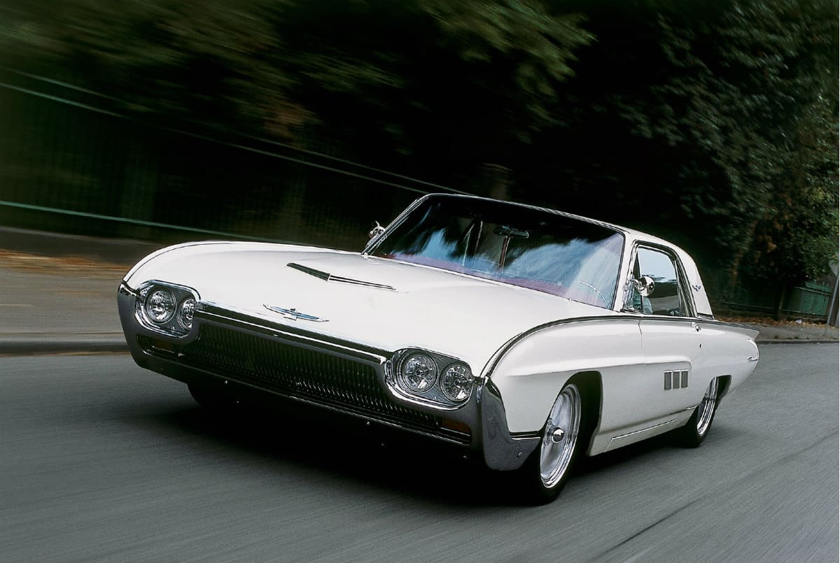 iconic cars of the 60's - 1963 Ford Thunderbird