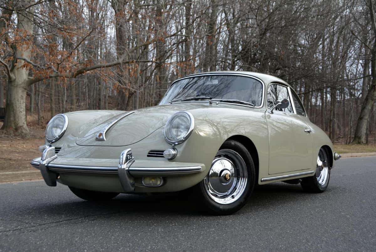 iconic cars of the 60's - 1963 Porsche 356 B