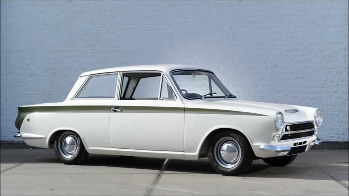 iconic cars of the 60s - 1966 Ford Lotus Cortina Mk1