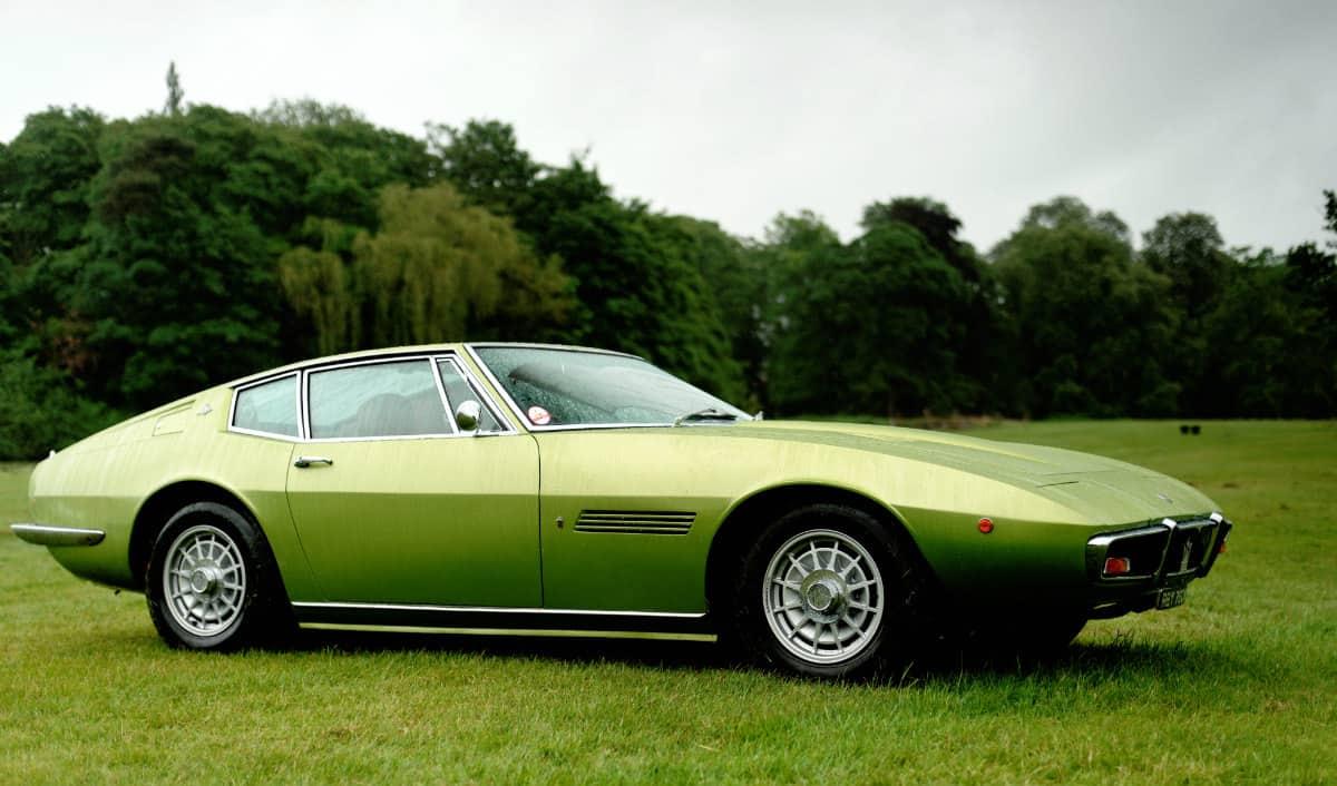 iconic cars of the 60's - 1966 Maserati Ghibli