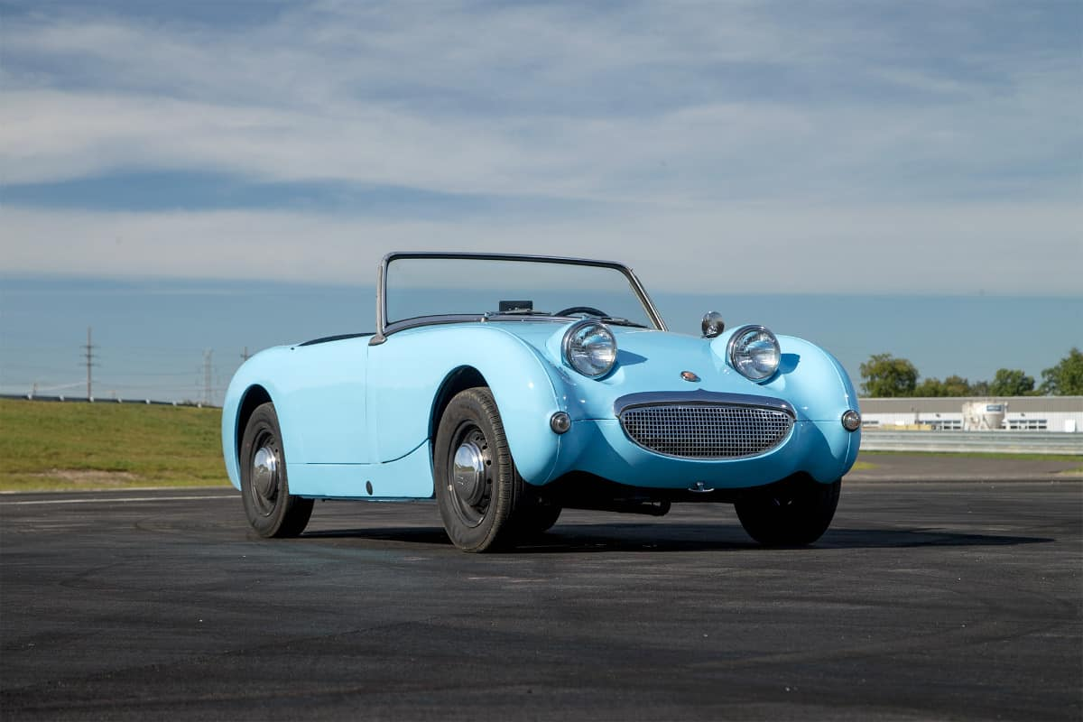 iconic cars of the 60's - Austin-Healey Sprite