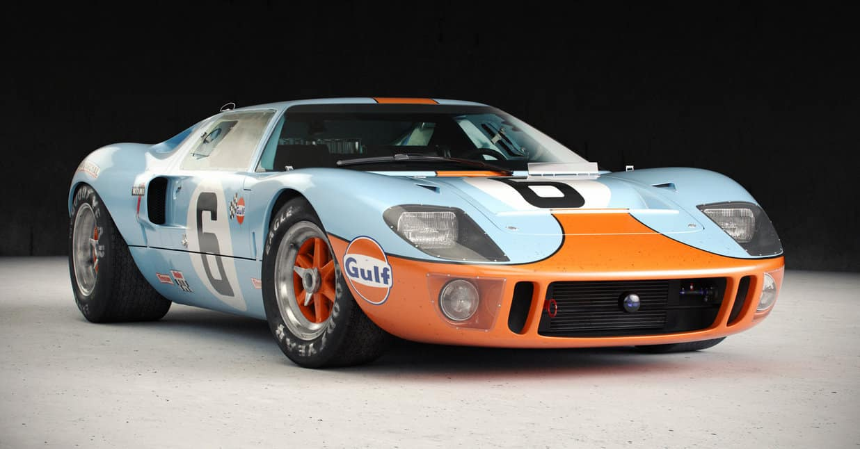 iconic cars of the 60's - Ford GT40