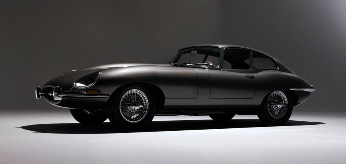 iconic cars of the 60's - Jaguar E-Type
