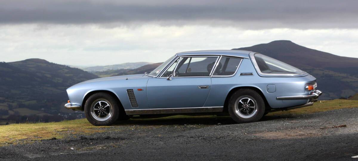 iconic cars of the 60's - Jensen Interceptor