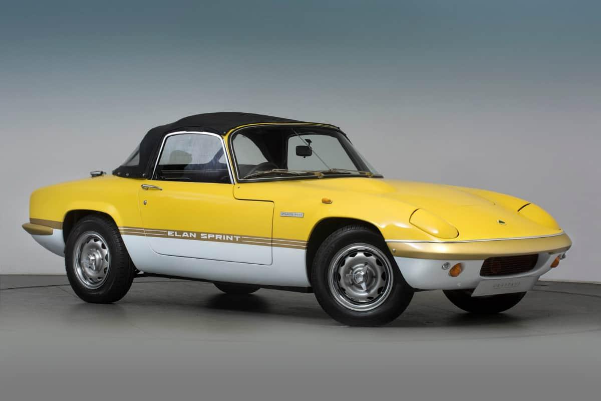 iconic cars of the 60's - Lotus Elan