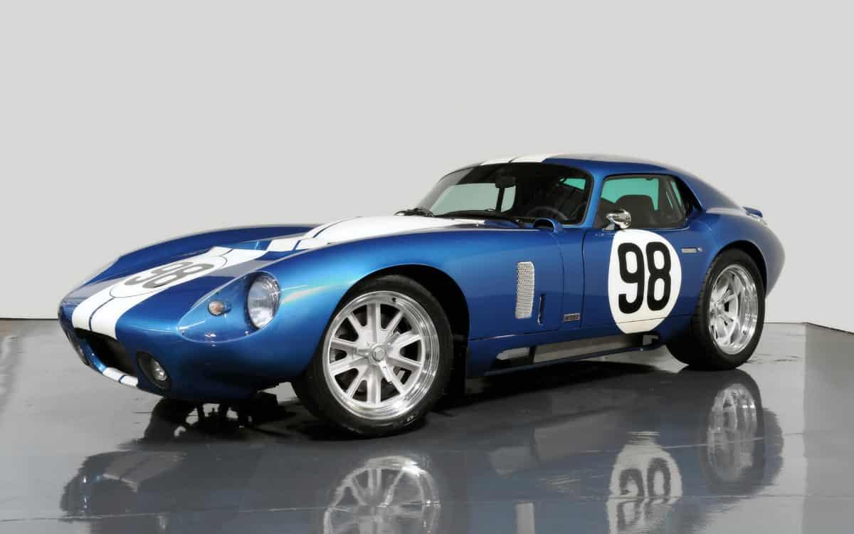 iconic cars of the 60's - Shelby Daytona Coupe
