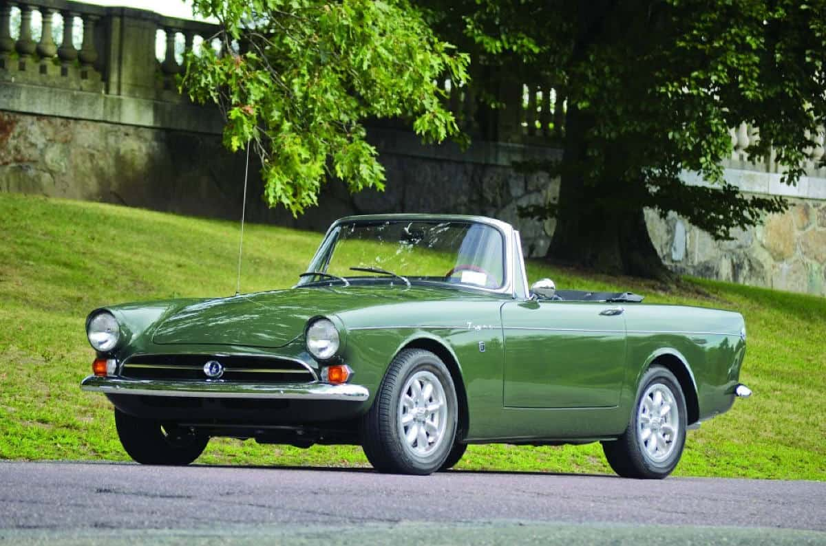 iconic cars of the 60's - Sunbeam Tiger