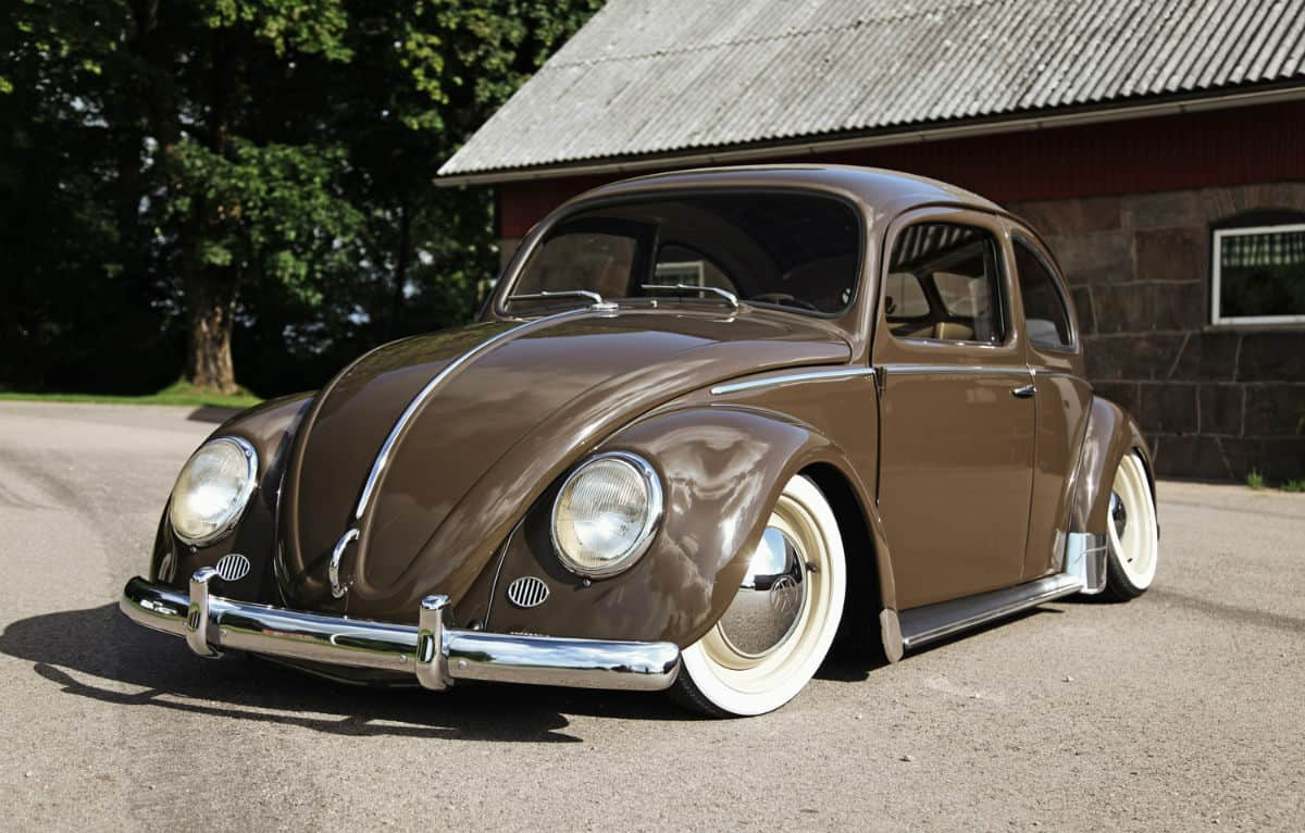 iconic cars of the 60's - Volkswagen Beetle