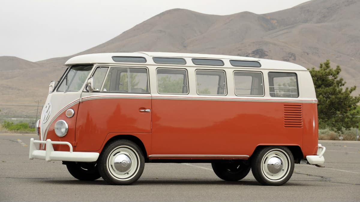 iconic cars of the 60's - Volkswagen Type 2
