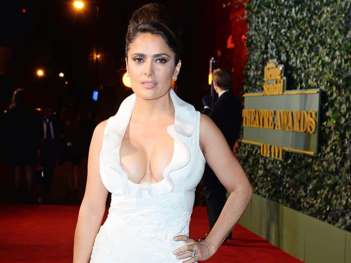 Salma Hayek dress