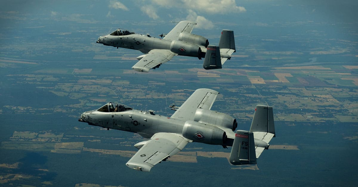 A-10- A-10C pilots maneuver in formation June 4, 2012