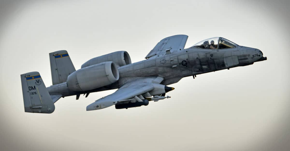 A-10_407th Expeditionary Operation Support Squadron commander, takesoff in an A-10