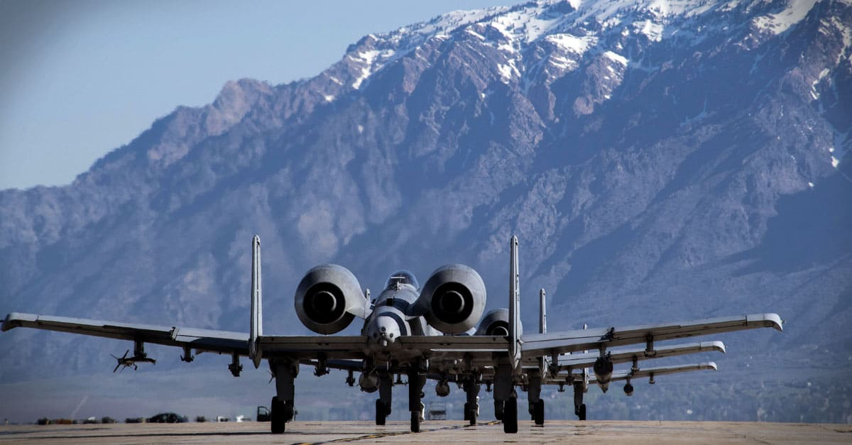 A-10_A-10 Thunderbolt II aircraft from Moody Air Force Base, Georgia