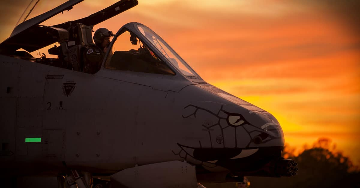 A-10_A-10C pilot prepares for takeoff during Operation Guardian Blitz