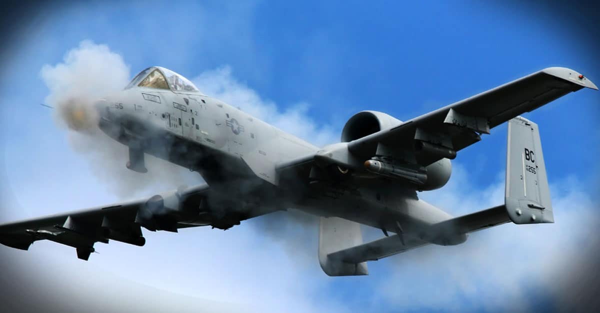 A-10_An A-10 Bomber maneuvers through various training scenarios at the Grayling Air Gunnery Range