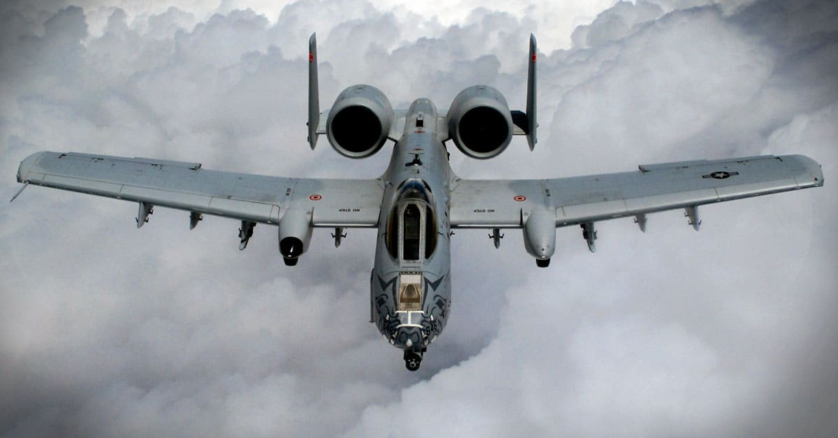 A-10_An A-10 Thunderbolt II aircraft from the 188th Wing, Ebbing Air National Guard Base, Fort Smith