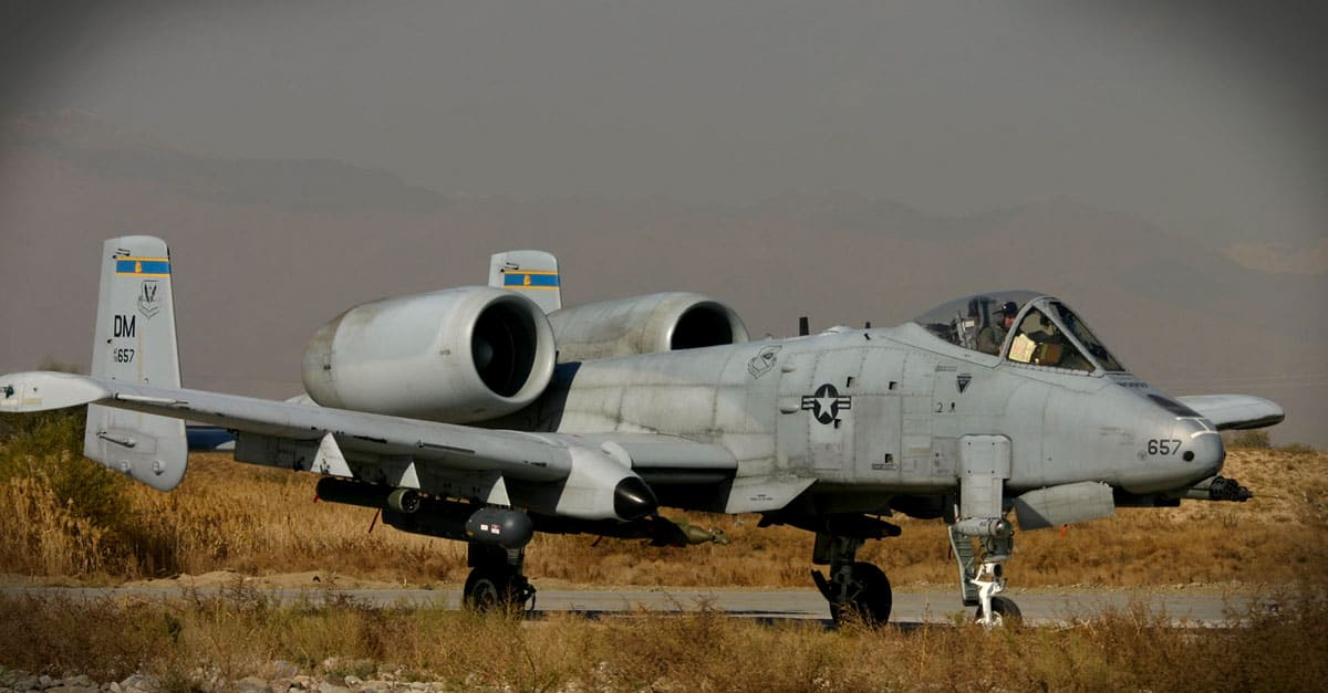 A-10_Maj. Steve Raspet returning from a mission in Afghanistan