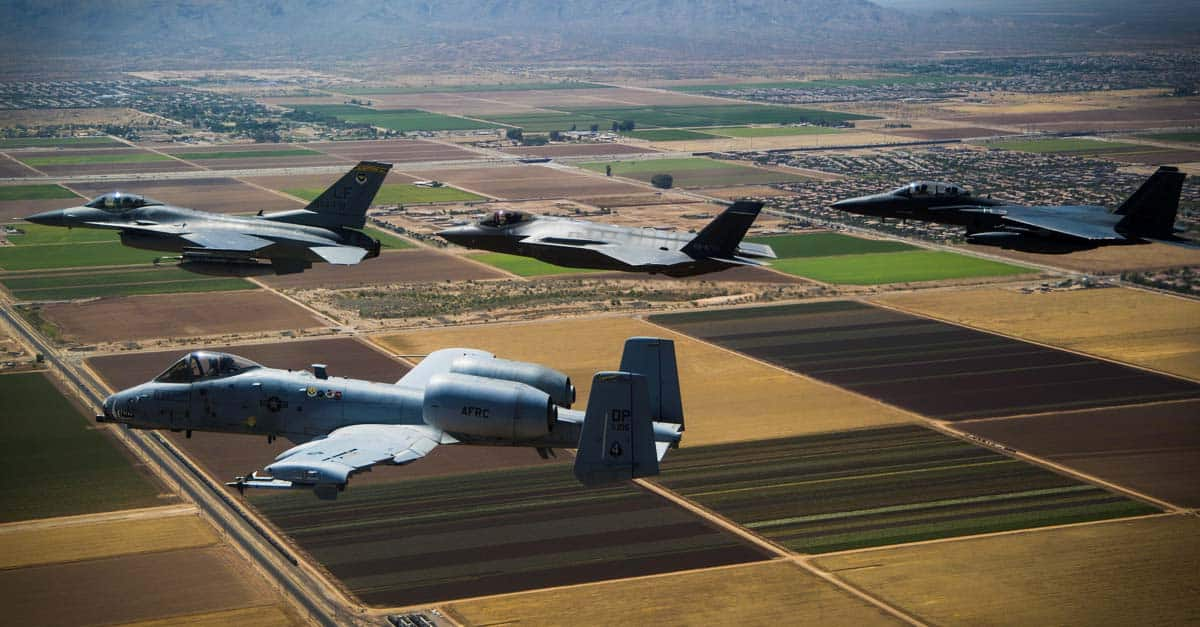 A-10_The 944th Fighter Wing, the Air Force Reserve's largest F-16, A-10, F-15E, and F-35 training wing trains