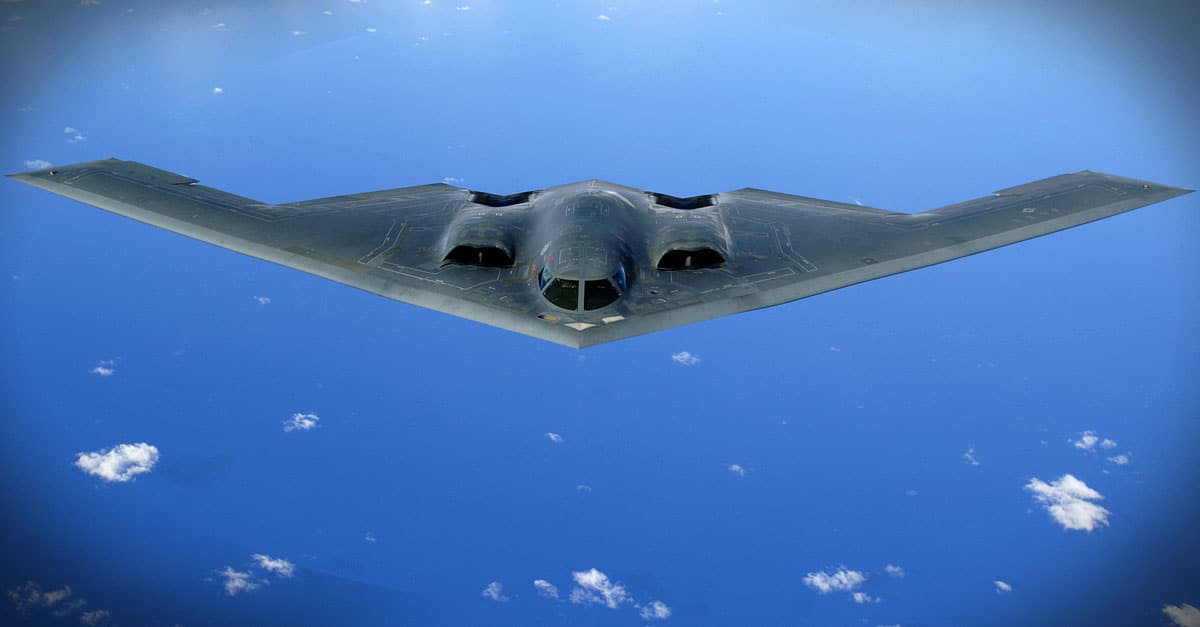 B-2_Air Force officials have awarded a contract to Northrop Grumman Corporation to provide advanced state-of-the-art radar component