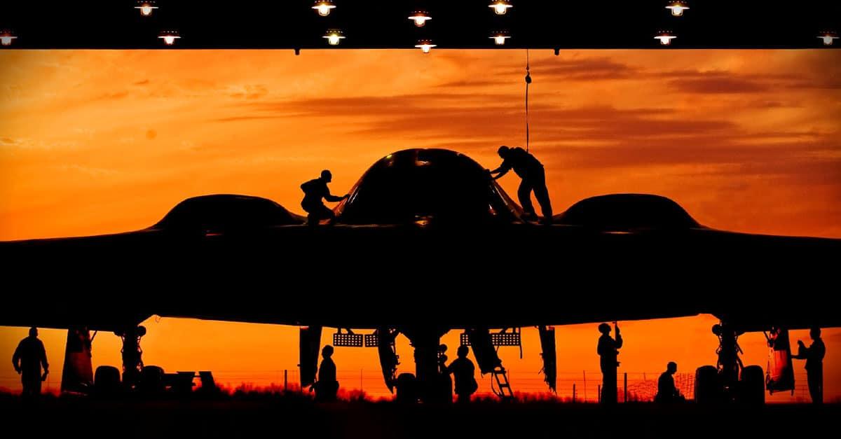 B-2_B-2 Stealth at Whiteman Air Force Base
