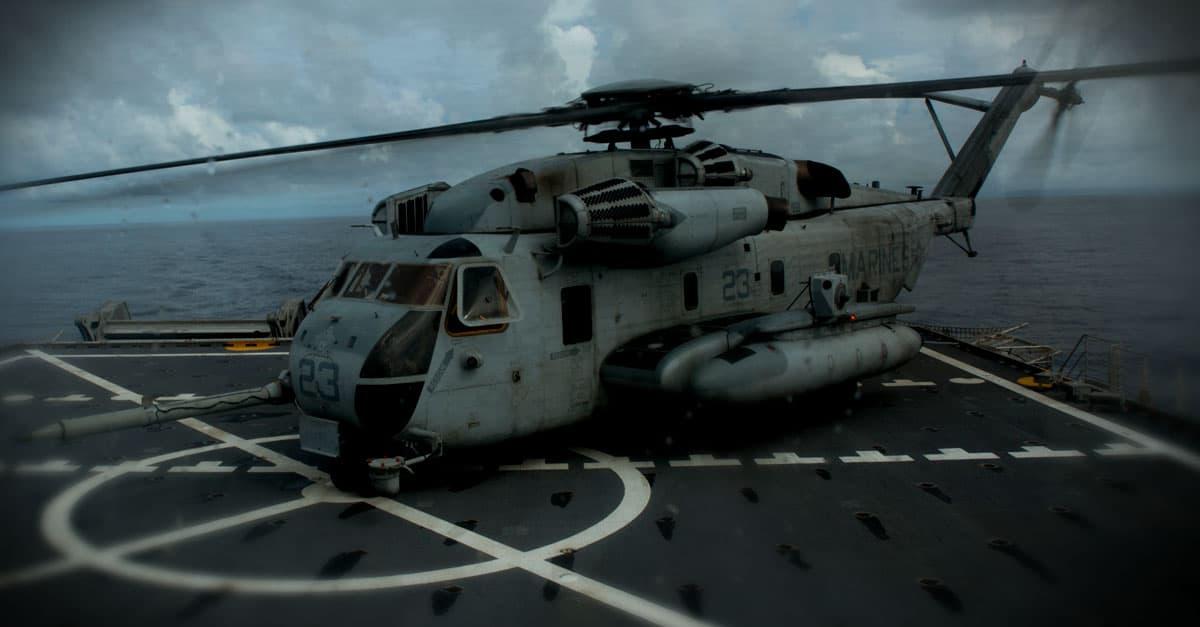 CH-53E_a CH-53E Super Stallion during Philippine Amphibious Landing Exercise 33