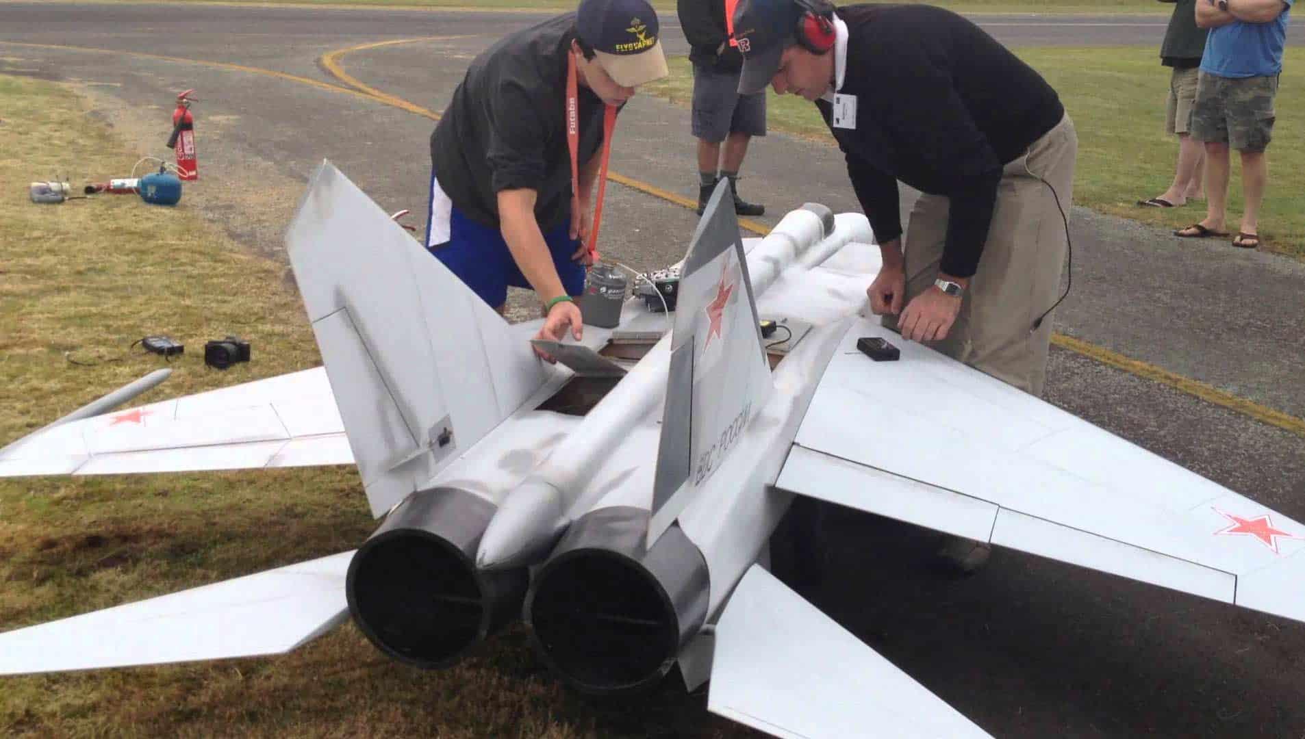 Twin Turbine Jet