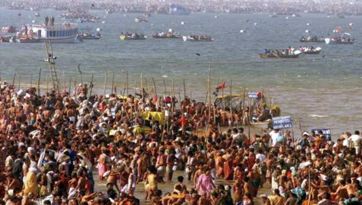 Kumbh-Mela-2001-Gathering