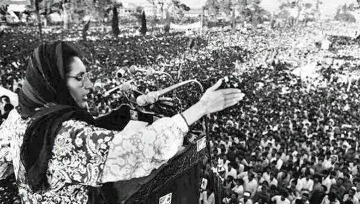 The-Welcome-Benazir-Bhutto-1987
