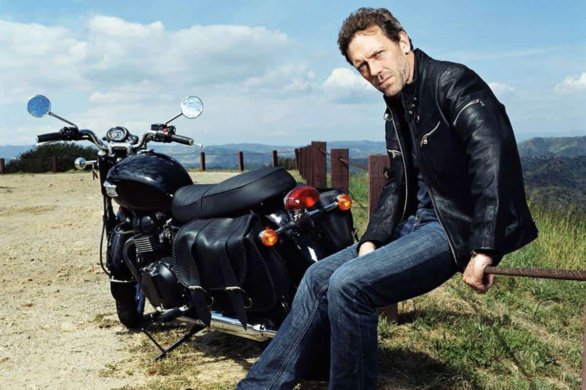 Hugh Laurie(Pinterest)