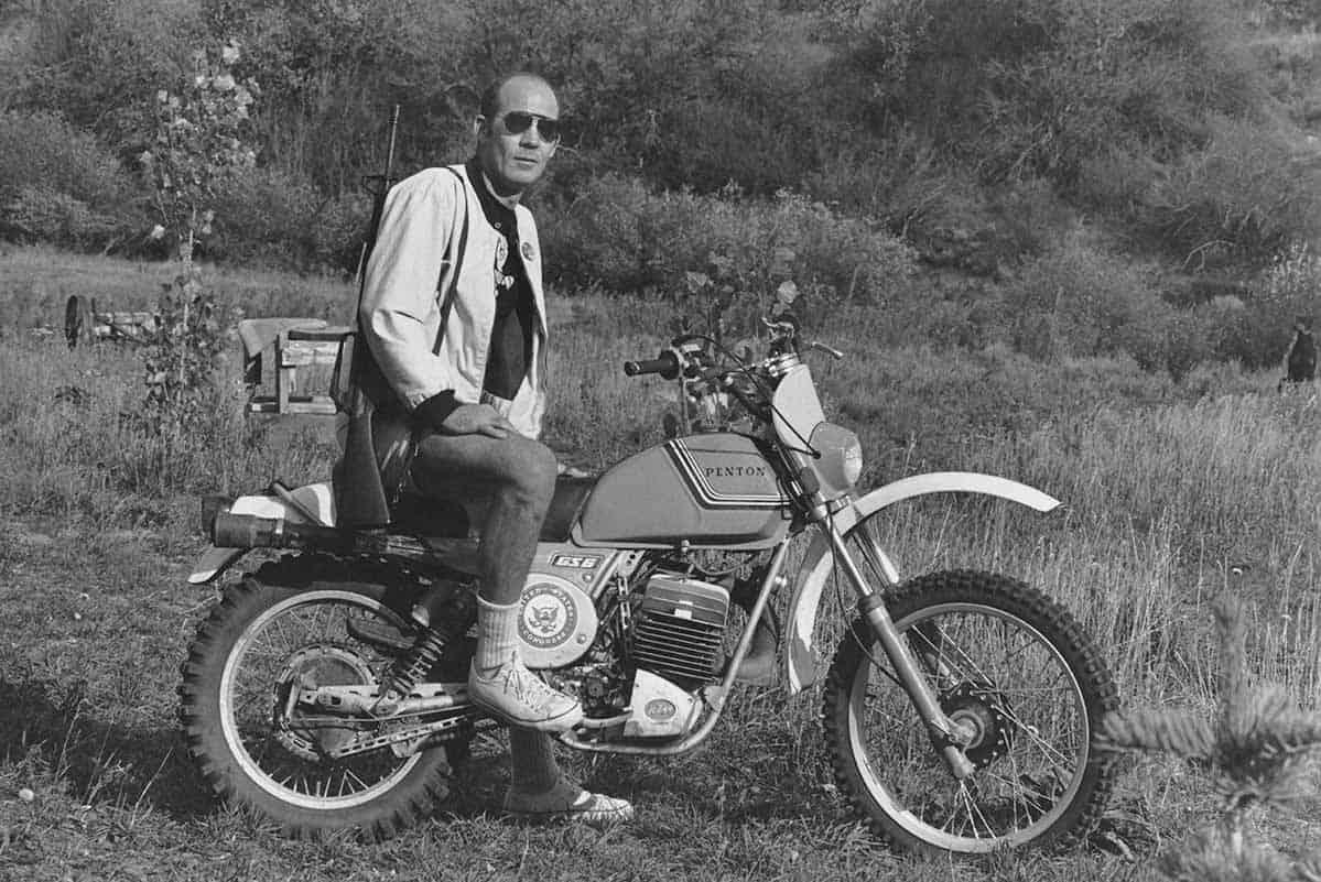 Hunter S Thompson(Michael Ochs Archives-Getty)