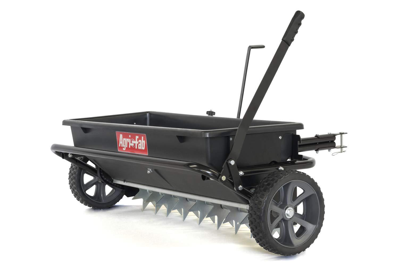 Agri-Fab 45-0543 100 lb. Tow Spiker-Seeder-Spreader, Black