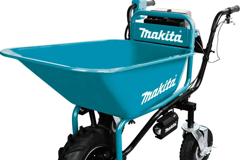 Makita XUC01PTX1 18V X2 LXT Lithium-Ion Brushless Cordless Power-Assisted Wheelbarrow Kit